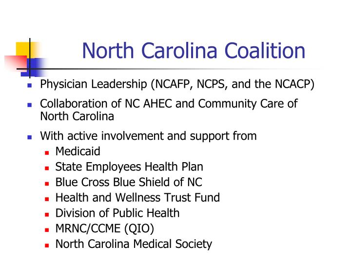 North Carolina Coalition