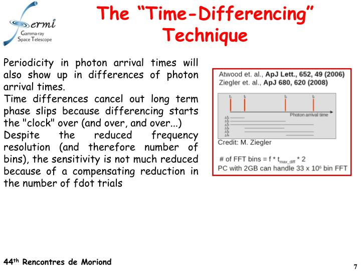 "The ""Time-Differencing"" Technique"