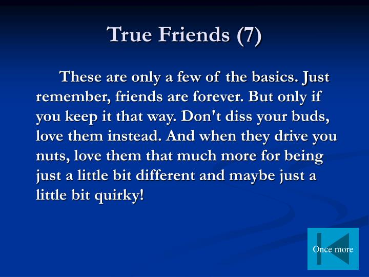 True Friends (7)