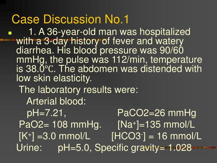 Case Discussion No.1