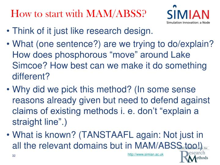 How to start with MAM/ABSS?