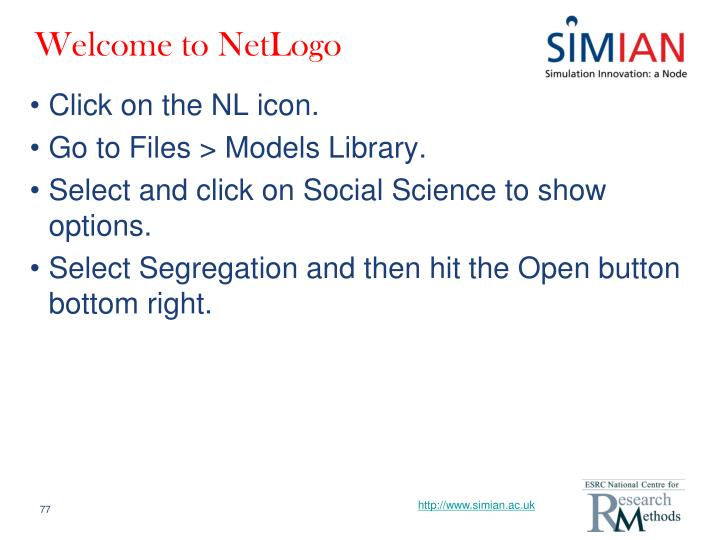 Welcome to NetLogo