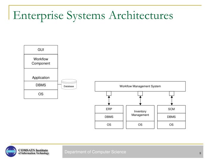 Enterprise Systems Architectures