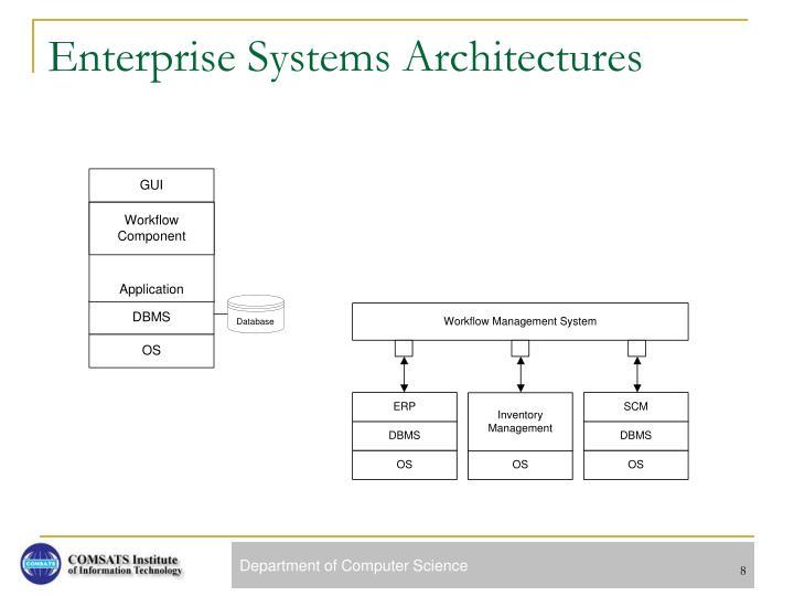 Enterprise Systems Architectures