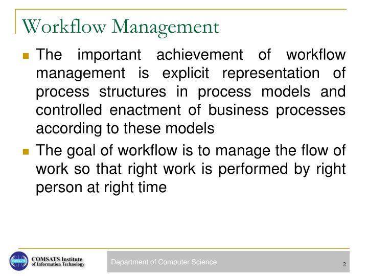 Workflow Management