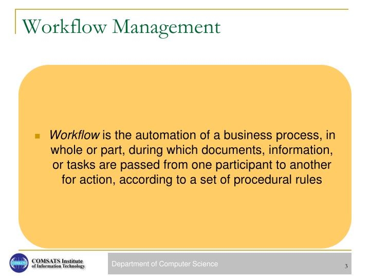 Workflow management1