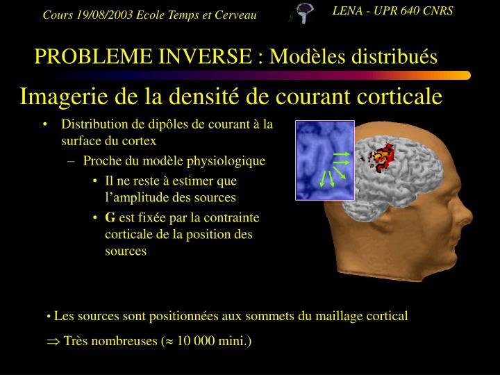 PROBLEME INVERSE : Modèles distribués