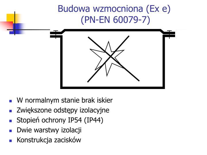 Budowa wzmocniona (Ex e)
