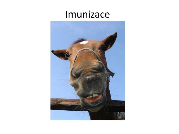 Imunizace