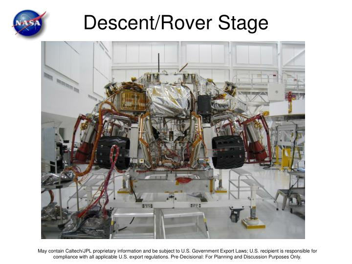 Descent/Rover Stage