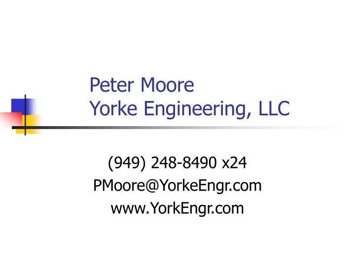 Peter Moore