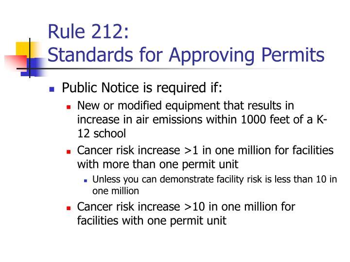 Rule 212: