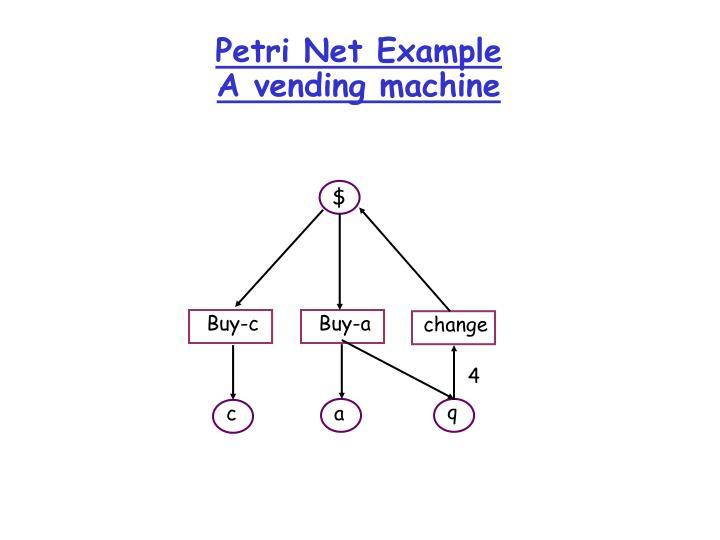 Petri Net Example