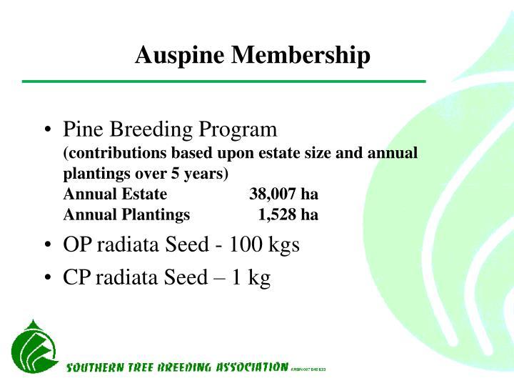 Auspine Membership