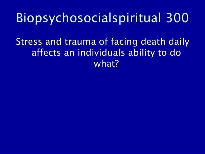 Biopsychosocialspiritual 300