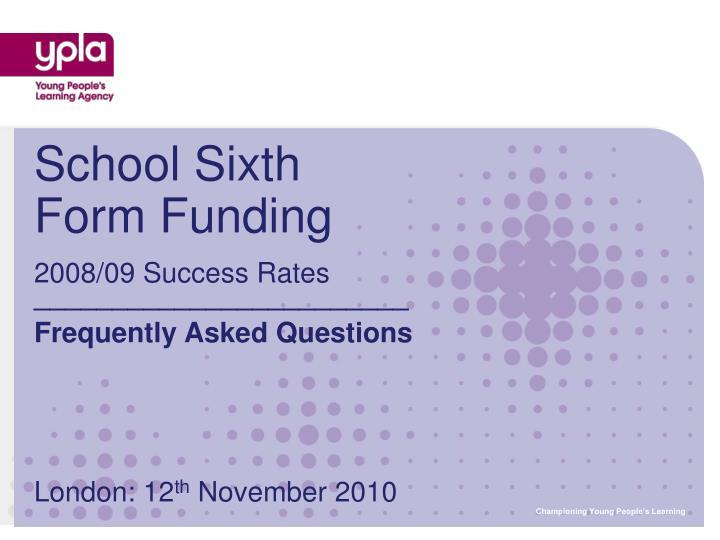 2008/09 Success Rates