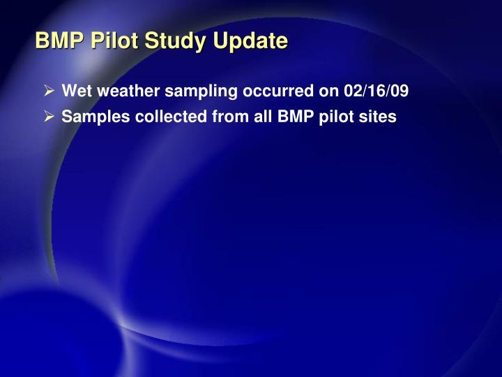 BMP Pilot Study Update