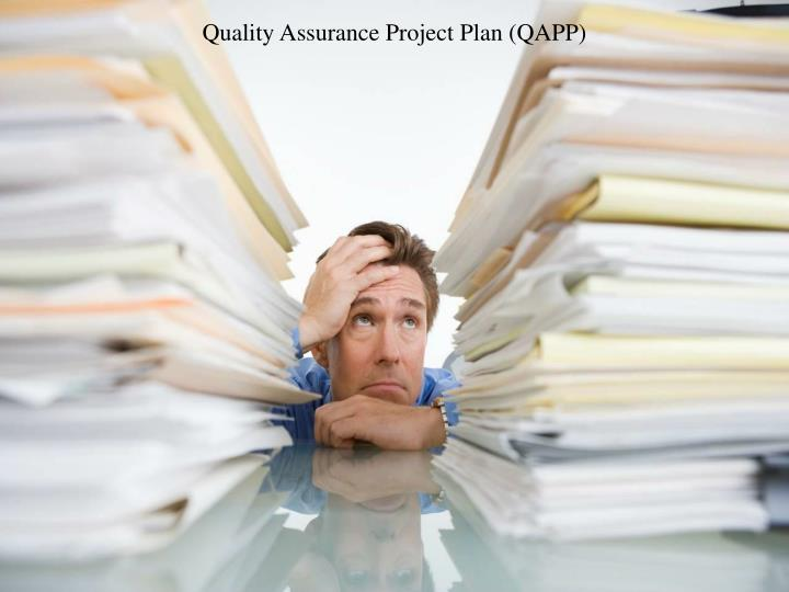 Quality Assurance Project Plan (QAPP)