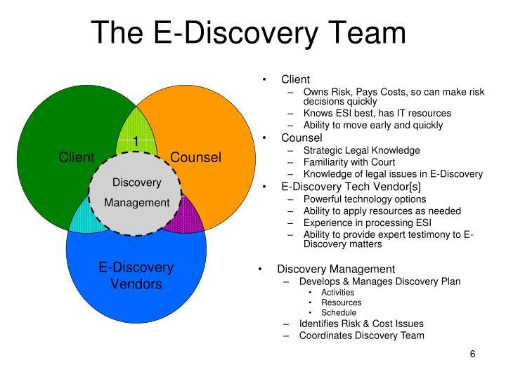 The E-Discovery Team