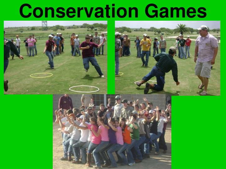 Conservation Games