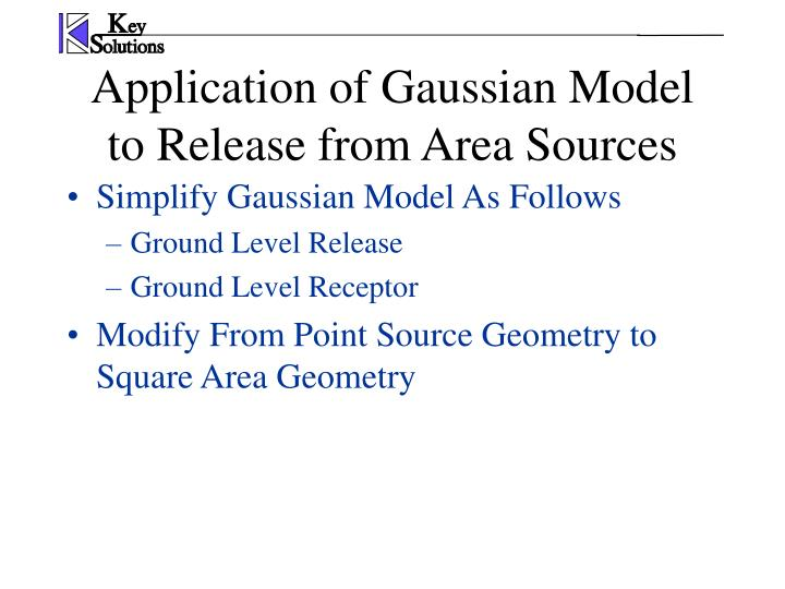 Simplify Gaussian Model As Follows