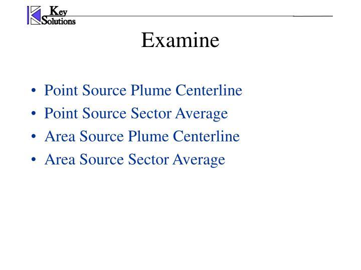 Point Source Plume Centerline