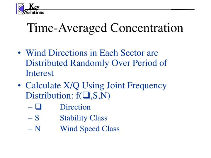 Wind Directions in Each Sector are Distributed Randomly Over Period of Interest