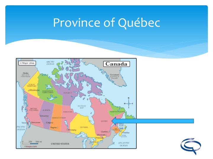 Province of Québec