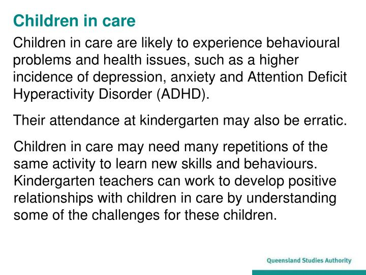 Children in care1