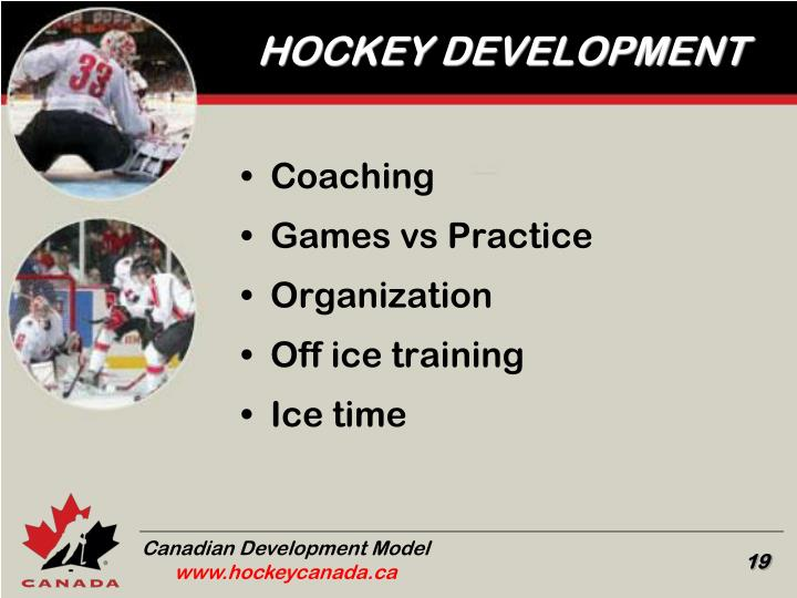 HOCKEY DEVELOPMENT