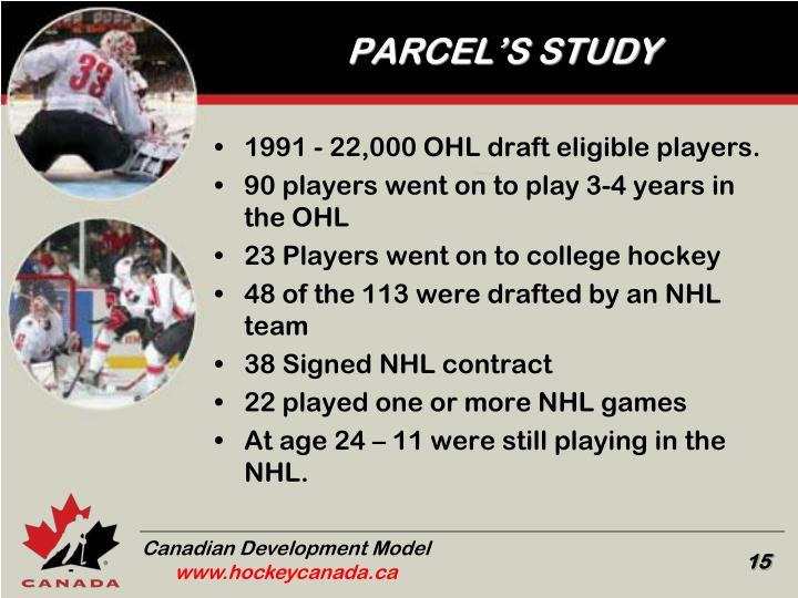 PARCEL'S STUDY