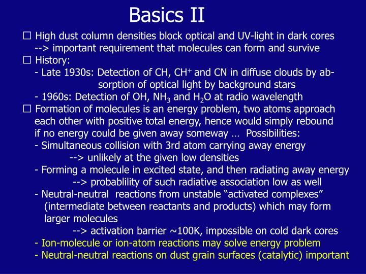 Basics II