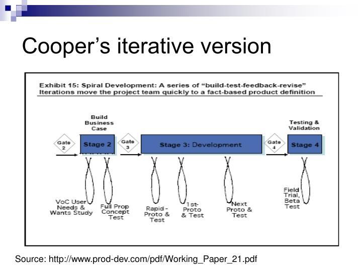 Cooper's iterative version