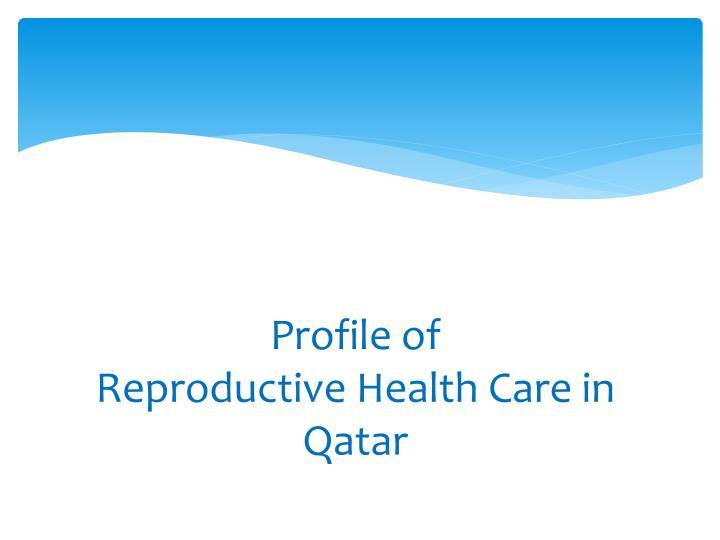 Profile of