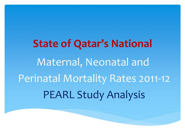 State of Qatar's National