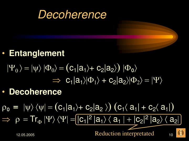 Decoherence