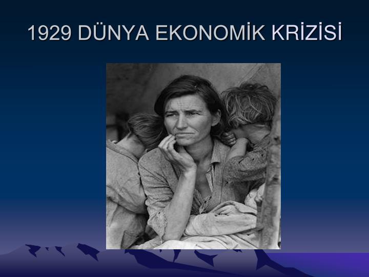 1929 DNYA EKONOMK