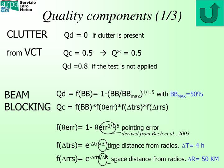 Quality components (1/3)