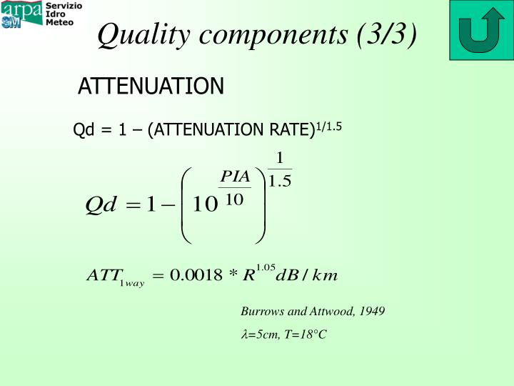 Quality components (3/3)