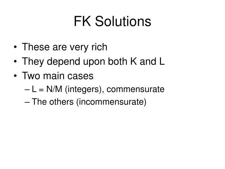 FK Solutions