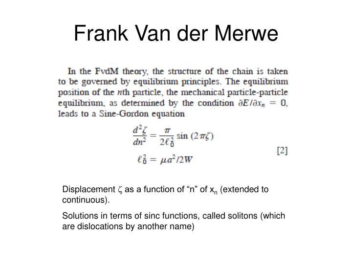 Frank Van der Merwe