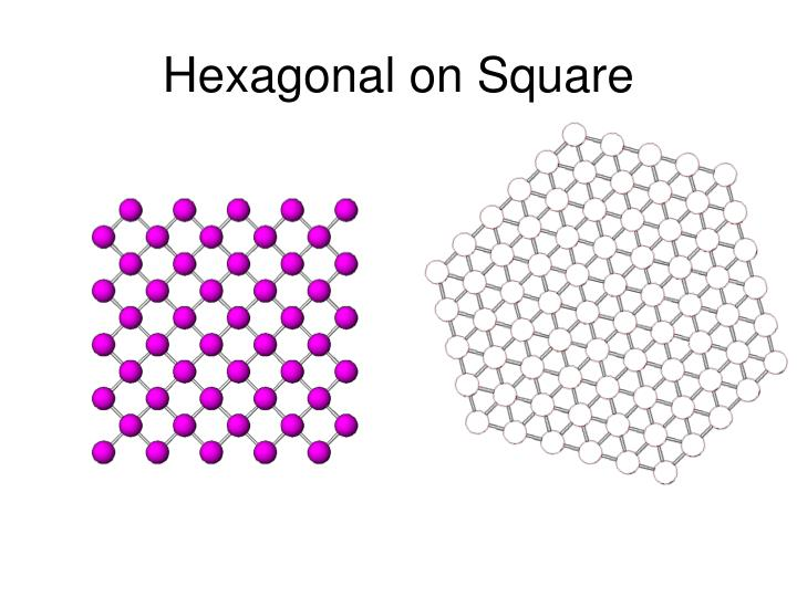 Hexagonal on Square
