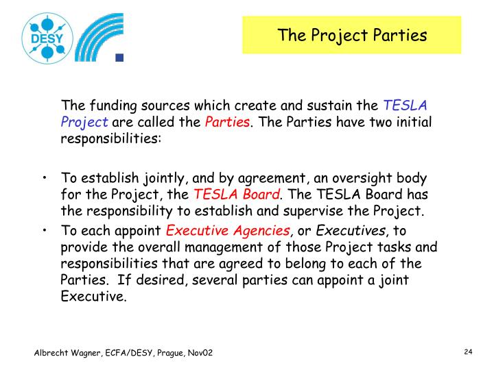 The Project Parties