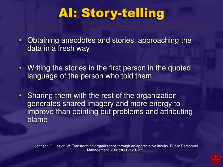 AI: Story-telling