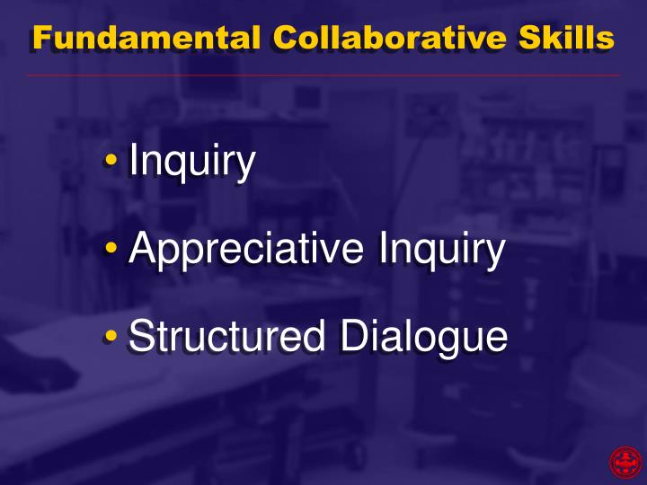Fundamental Collaborative Skills