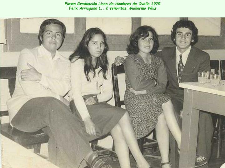 Fiesta Graduación Liceo de Hombres de Ovalle 1975