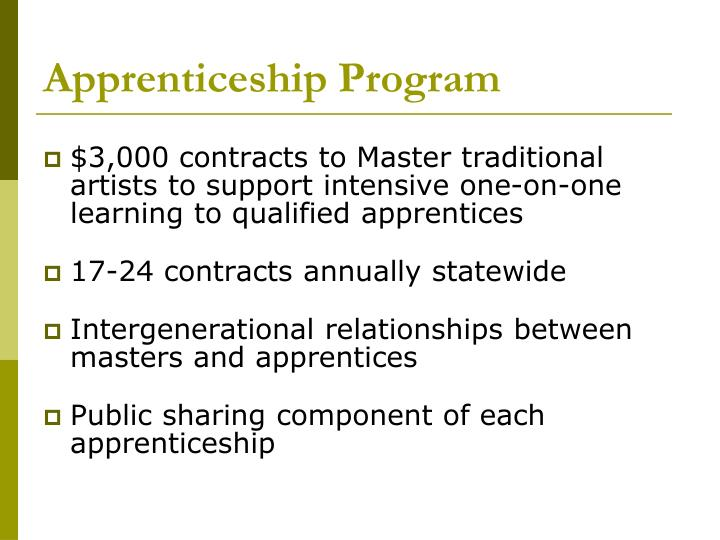 Apprenticeship Program