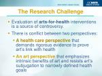 the research challenge