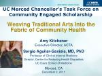 uc merced chancellor s task force on community engaged scholarship