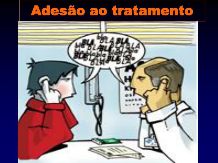Adesão ao tratamento